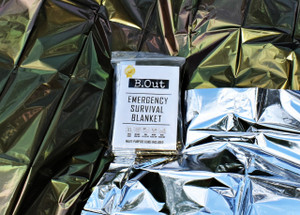 B.Out Emergency Survival blanket