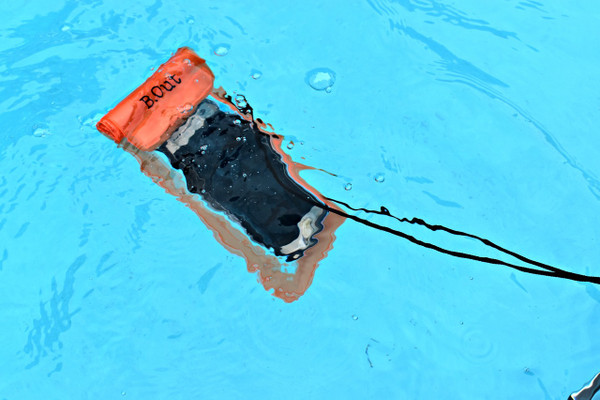 B.Out WATERPROOF Cell Phone Bag (Orange)
