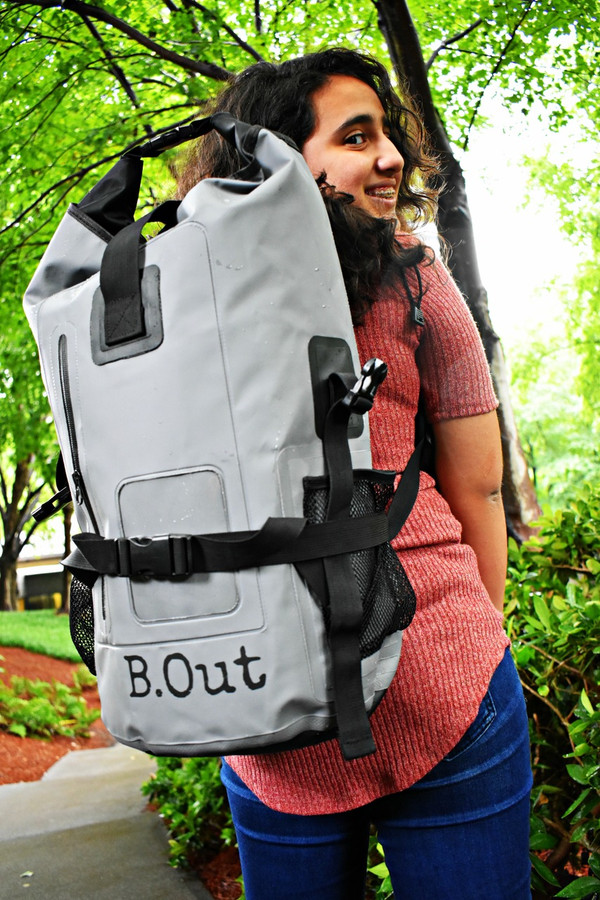 B.Out Backpack 40L - GREY