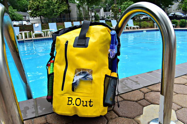 B.Out Backpack 40L - YELLOW