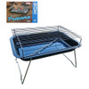 Tropicana Portable Charcoal Camp BBQ with Skewers