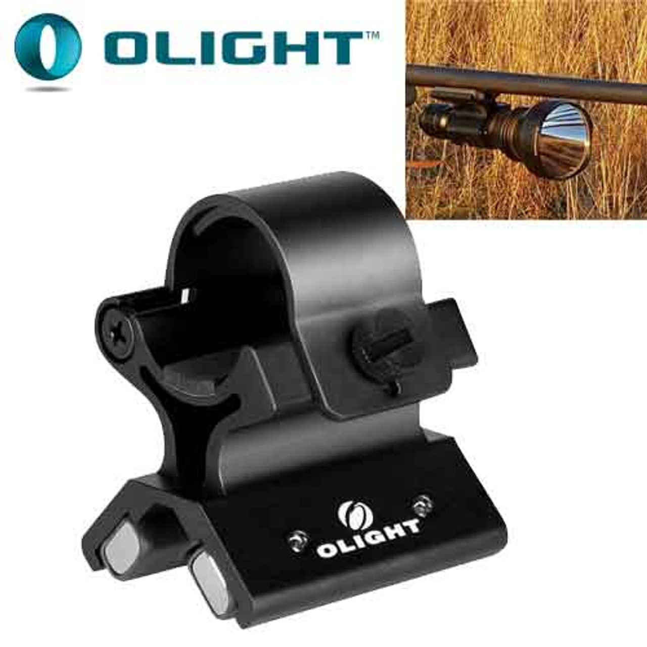 Strong Magnetic X Tactical Flashlight Torch Bracket Scope Gun Mounts