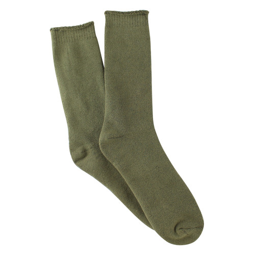 Bearfoot Men's PK1 Cotton Outdoor Socks - Khaki