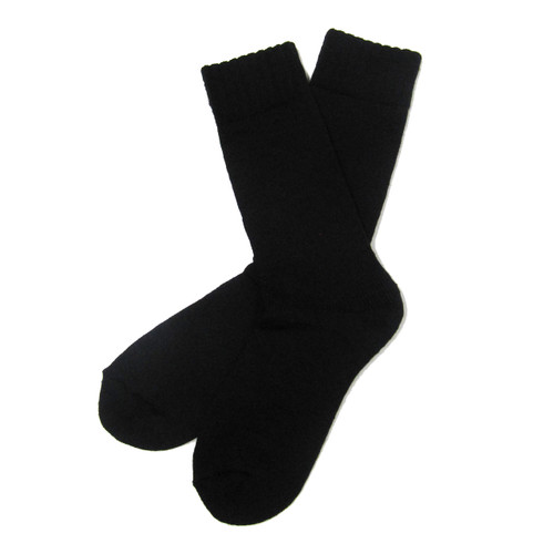 Women's PK1 Expedition Merino Boot Sock - Black