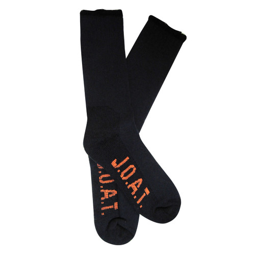 Jack Of All Trades Men's PK1 Warm Wool socks for outdoor, work and play - Charcoal