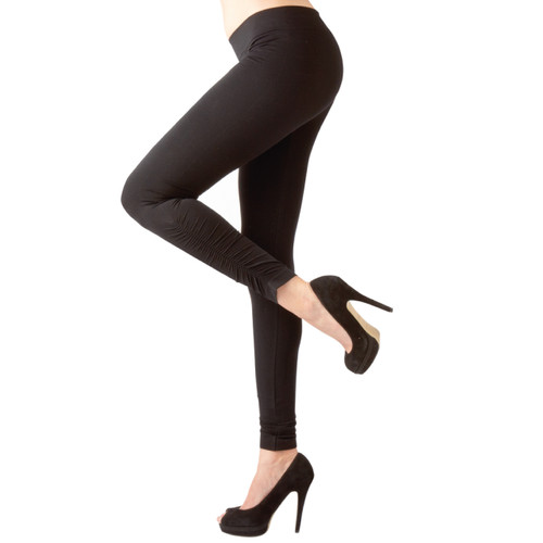 Ruched Seamless Full Length Leggings