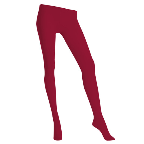 3D 120 Denier Opaque Tights - Rouge