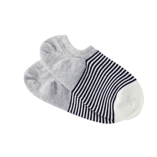 Cotton Sneaker Sock- Sorrento Stripe