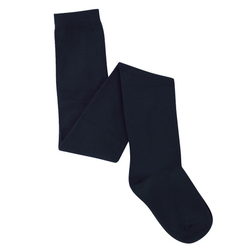 Womens PK2 Cotton Rich Tights - Navy