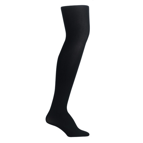 Girls PK2 70D Nylon Opaque Tights - Black