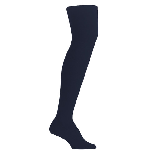Womens PK2 70D Nylon Opaque Tights - Navy