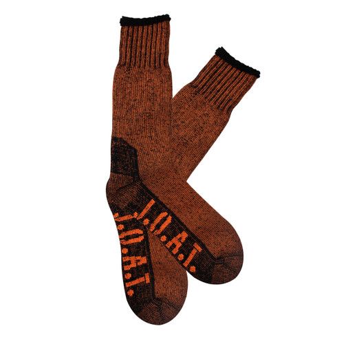Mens PK1 Thermal Socks- Fluro Orange