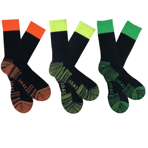 Men's PK3 Crew WORK IT Socks