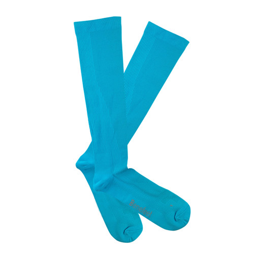 PK1 Benefeet Airsafe Therapeutic Compression Socks with Silverplus - Fluro Blue