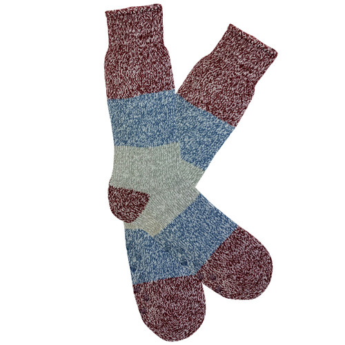 Men's PK1 Hotty™ Thermal Socks - Burgundy