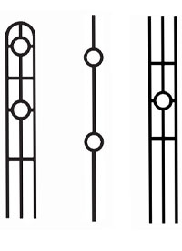 Designer Iron Balusters
