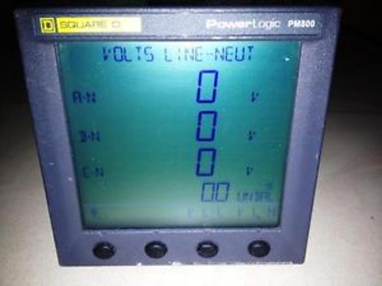 PM810 SQUARE D Power Logic PM800 series Schneider PowerLogic PM810