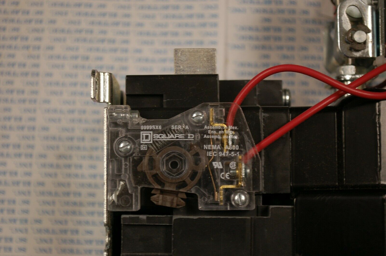 Square D Lighting Contactor 8903 S0011 600 V 100 AMP 120V COIL 8903S0011 sq011