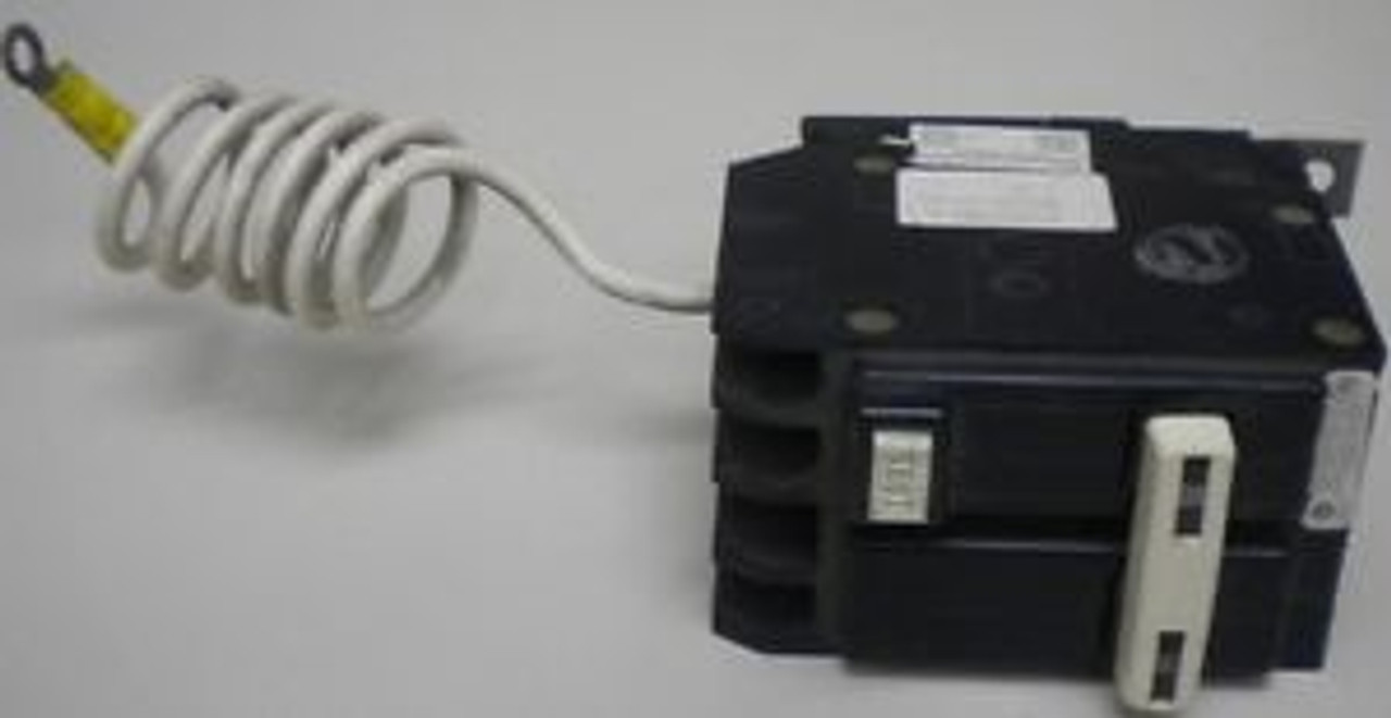 GFCB220 CUTLER HAMMER GROUND FAULT CIRCUIT BREAKER 20A 2 POLE 120//240 VAC NEW!