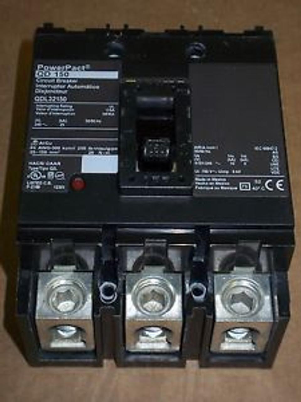 225 Amp 3 Pole QDL32225 Circuit Breaker
