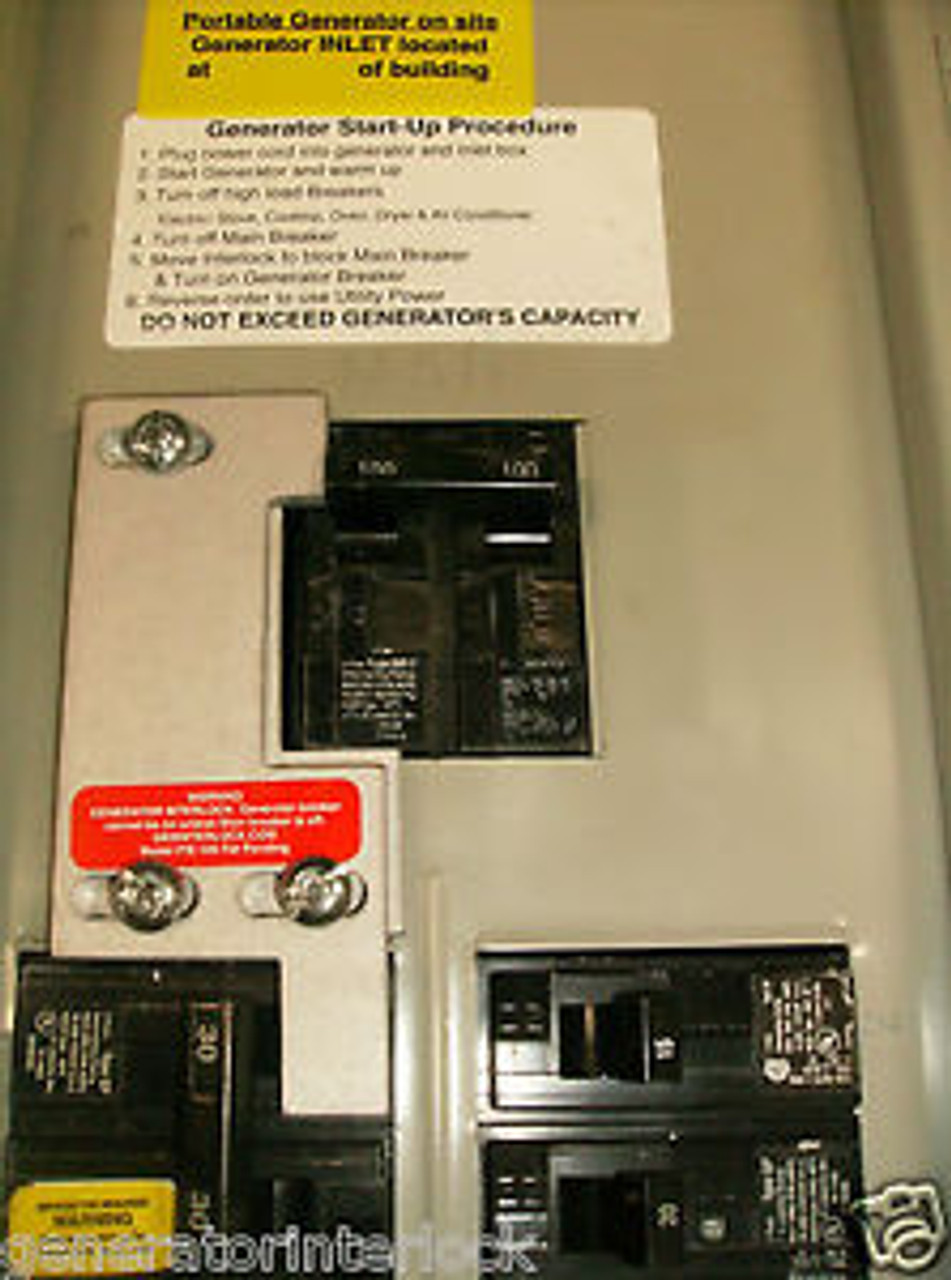 M-9 Generator Interlock Kit for Murray Electrical Panel