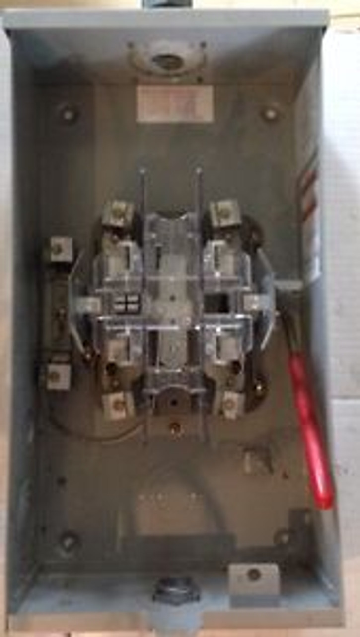 Used Milbank Single Bypass Meter Socket -125 Amp With Hub & Connectors -  SPW IndustrialSPW Industrial