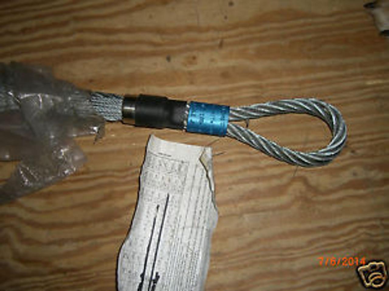 HUBBELL WIRING DEVICE-KELLEMS 033-03-017 Pullin Grip,Flexible Eye,2.00-2.49 In.