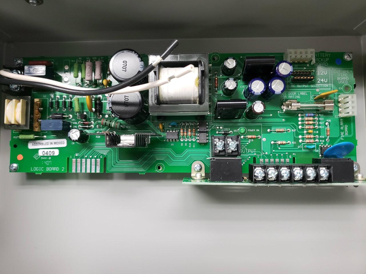 PS873 Class 2 Power Supply & 873-FA,873-BB,873-KL   Von Duprin Ps873 Wiring Diagram      SPW Industrial