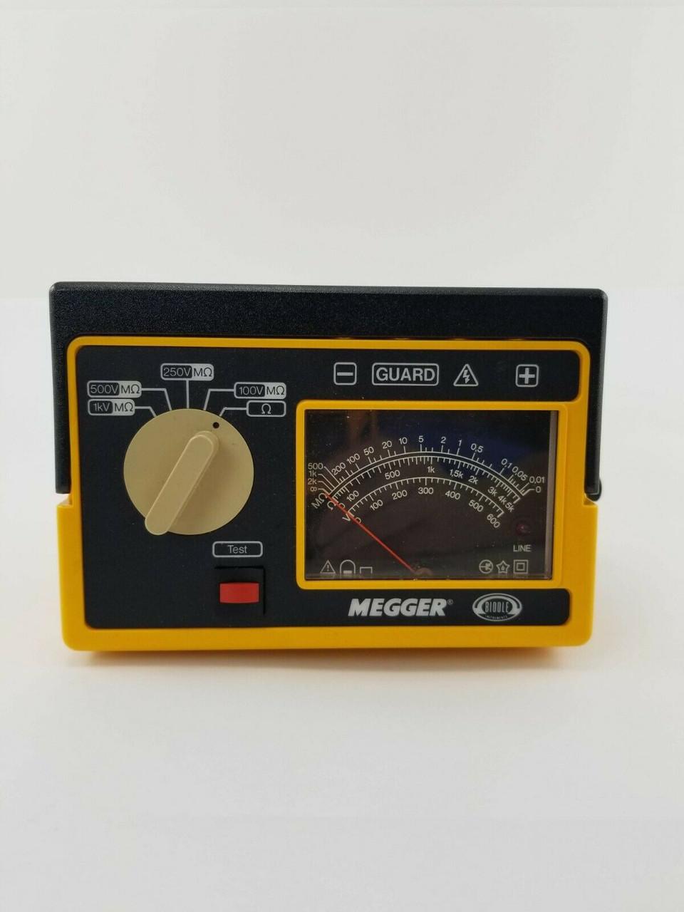 Megger Biddle 212359 Va C Hand Cranked Insulation Tester 600v 2000 Mohms Spw Industrial