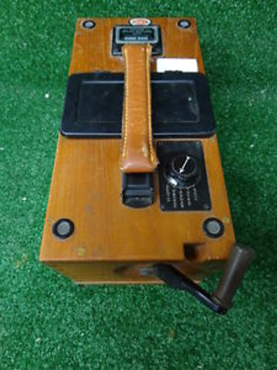 Biddle Megger Ground Resistance Wooden Tester Vintage 1942061 Spw Industrial