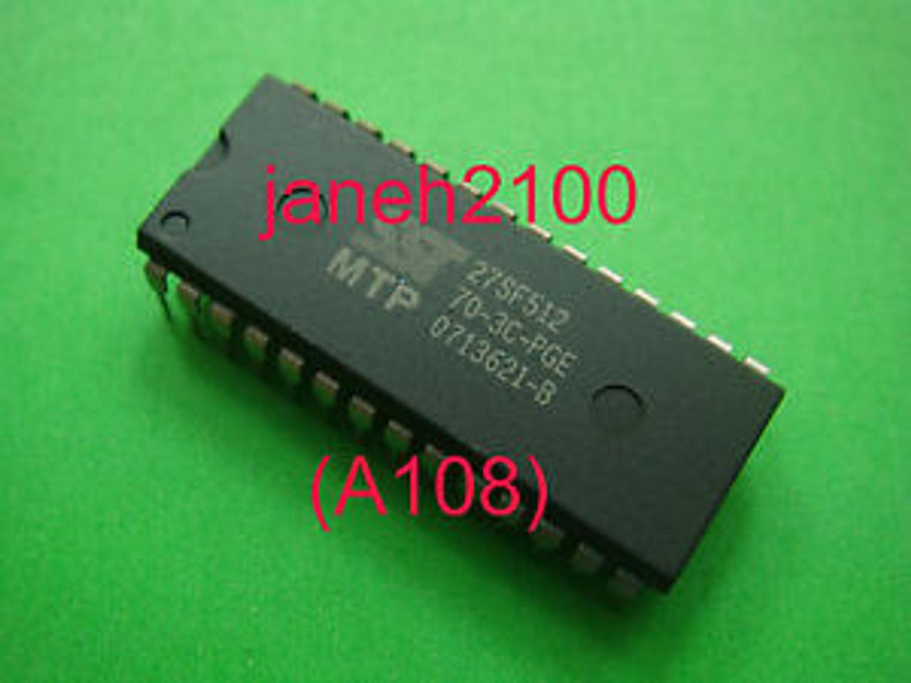 A108 1p SST 27SF512-70-3C-PG 27SF512-70-3C-PGE SST 27SF512 DIP-28 IC