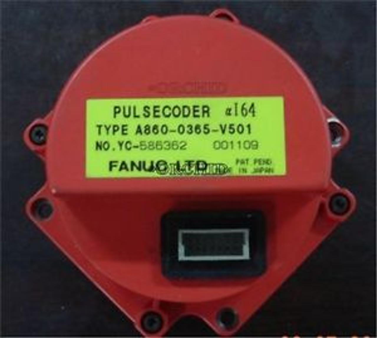 Used Fanuc A860-0365-V501 A8600365V501 Pulse Coder