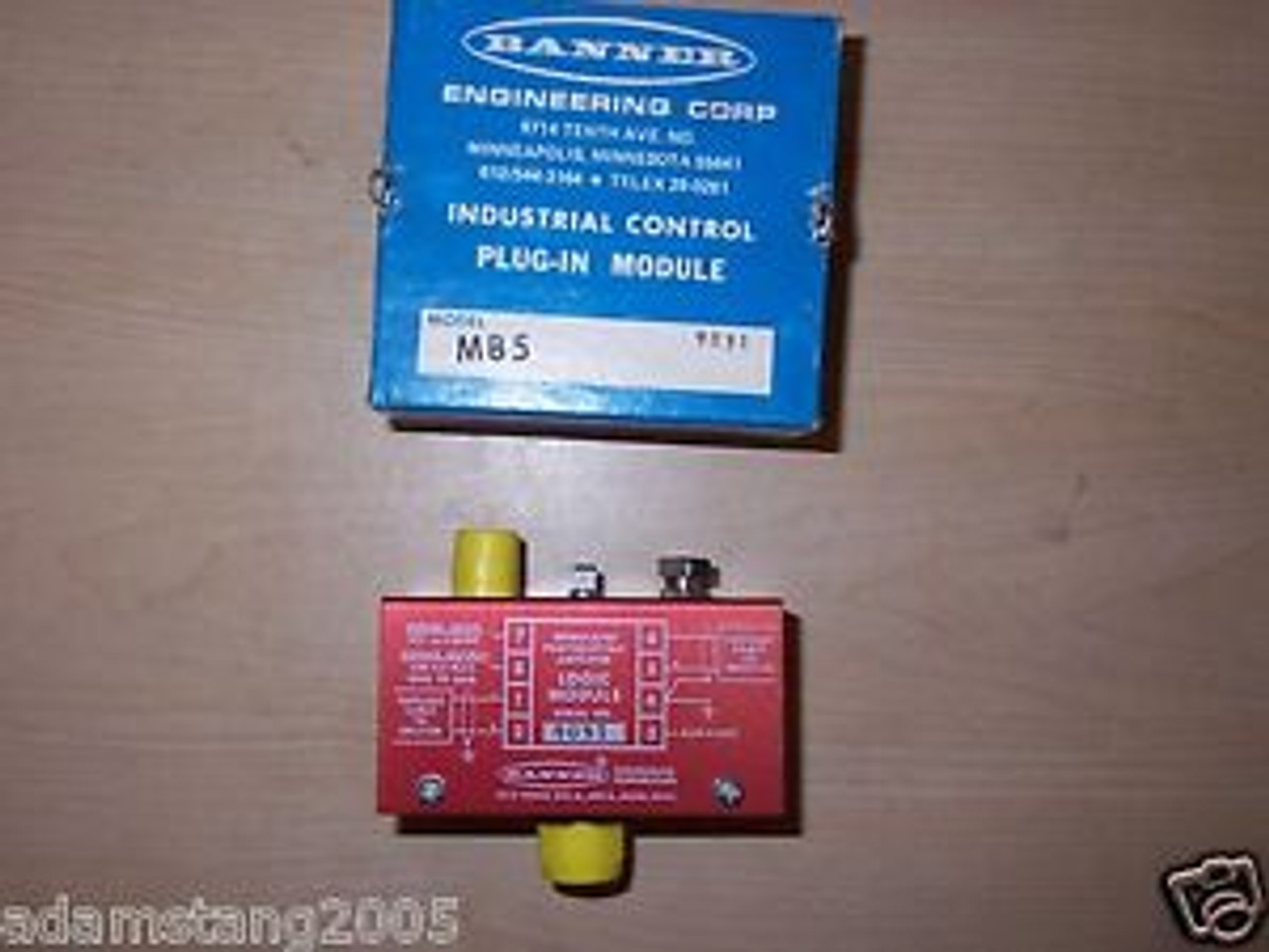 Banner MB5-14 Industrial Control Module Photoelectric Amplifier