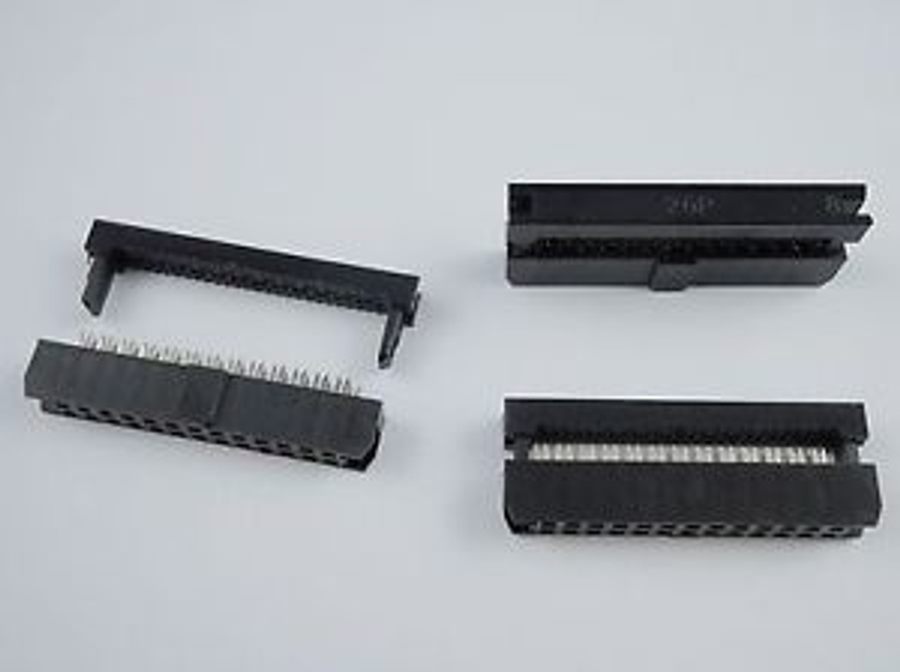 Female to Female 2.54mm-Pitch 26-wire IDC Flat Ribbon Cable 26-Pin 2x13