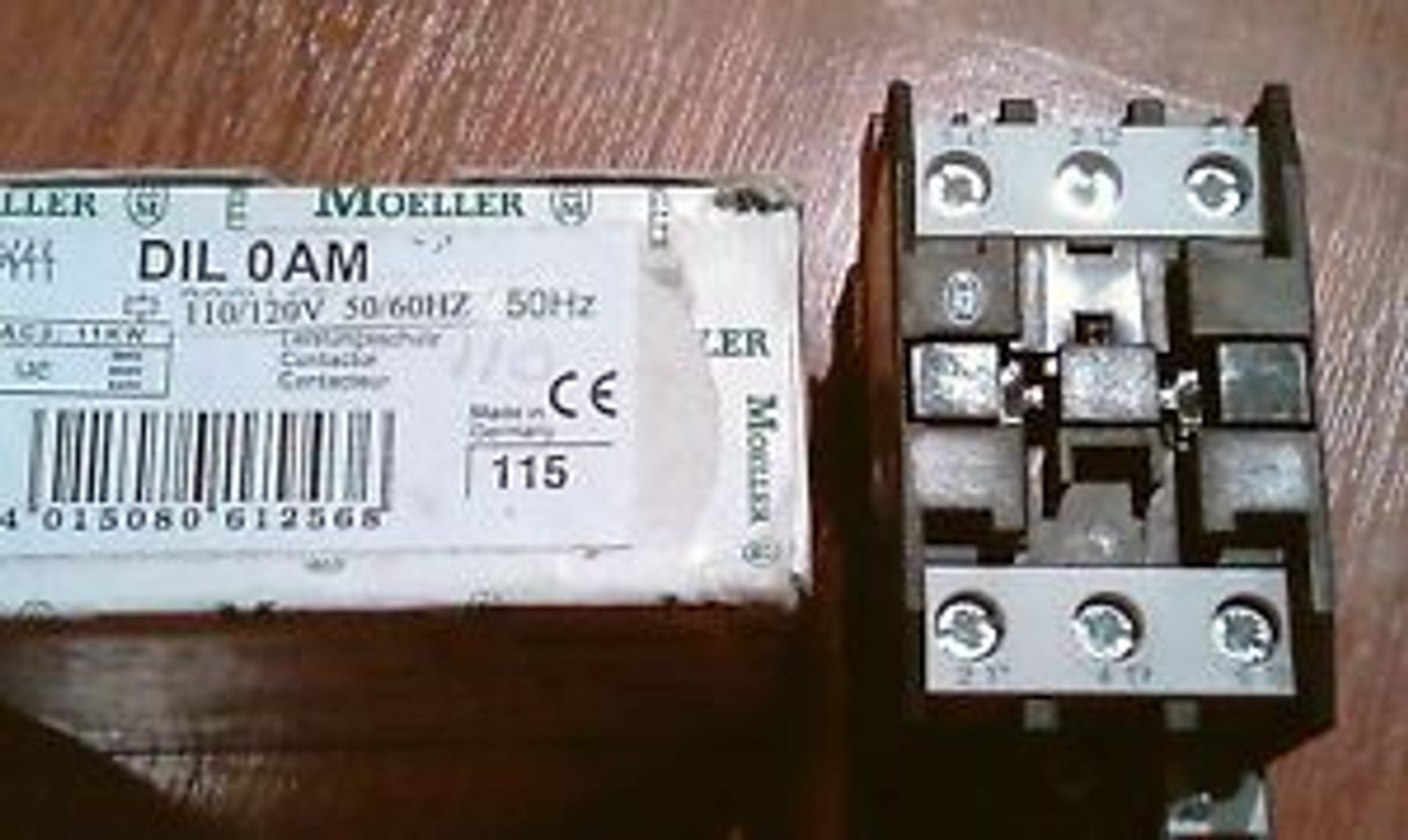 moeller dil 0am new in box diloam dil oam contactor