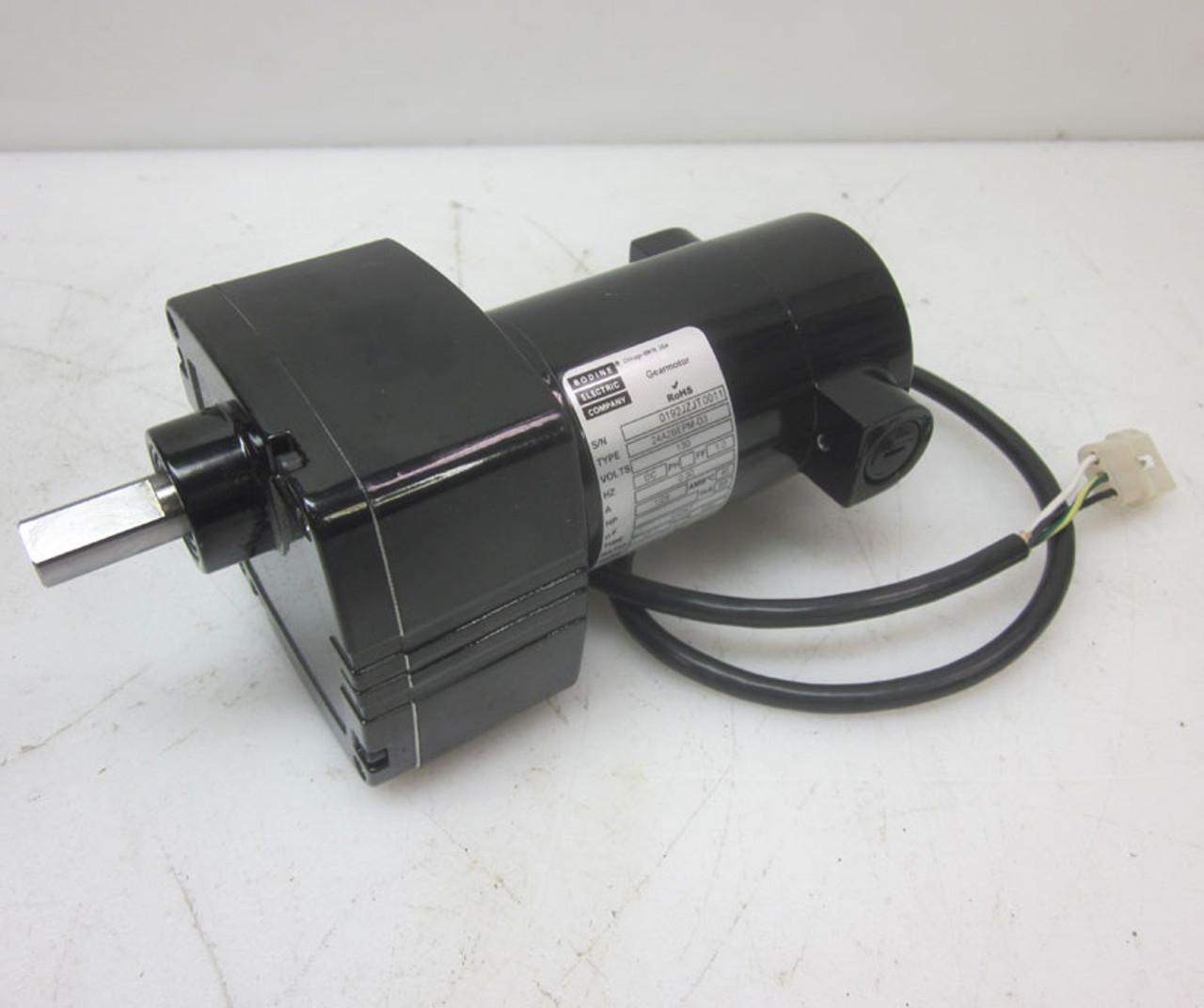 Bodine Electric Company 24A2BEPM-D3 Gearmotor Gear Motor