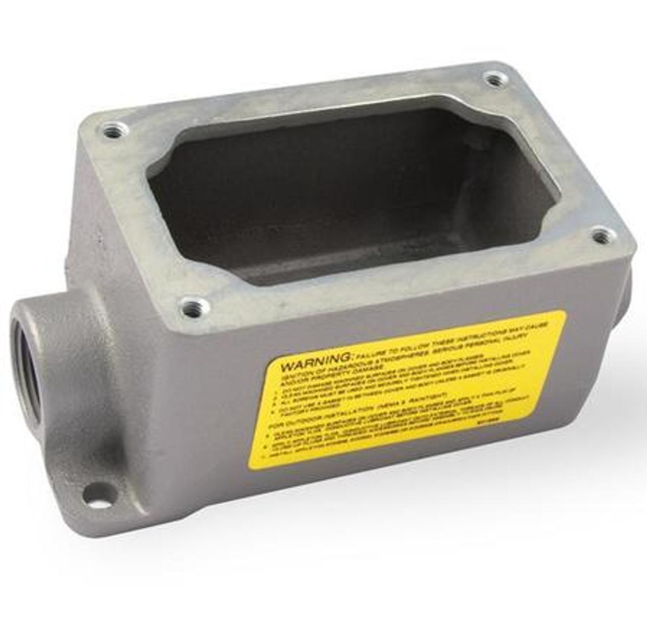Appleton Explosion Proof Enclosure Switch Starter Efdc175-Nl-Q New Efk-F12-0