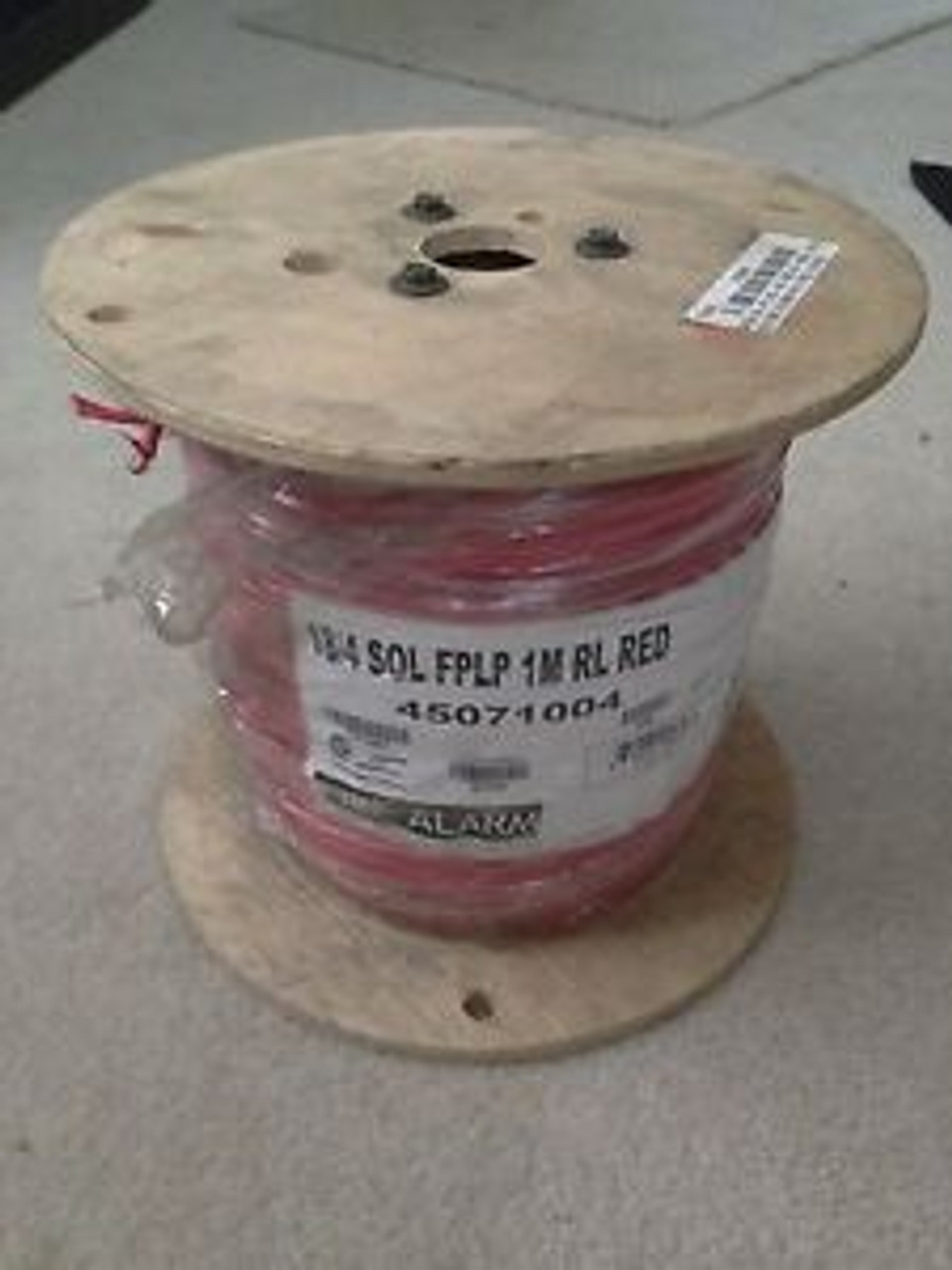1000/' Reel Red 18//2C Unshielded FPLP Fire Alarm Cable FREE SHIPPING!!