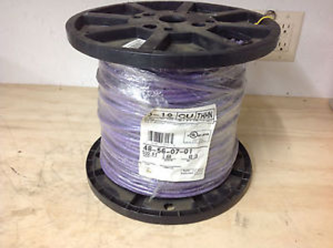 SOUTHWIRE COMPANY 23212401 Building Wire,THHN,12 AWG,Purple,500ft