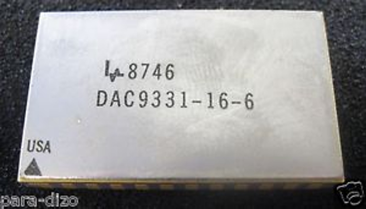 New Manufacturer:SIPEX MPN:DAC9377-16-6 Encapsulation:DIP-24