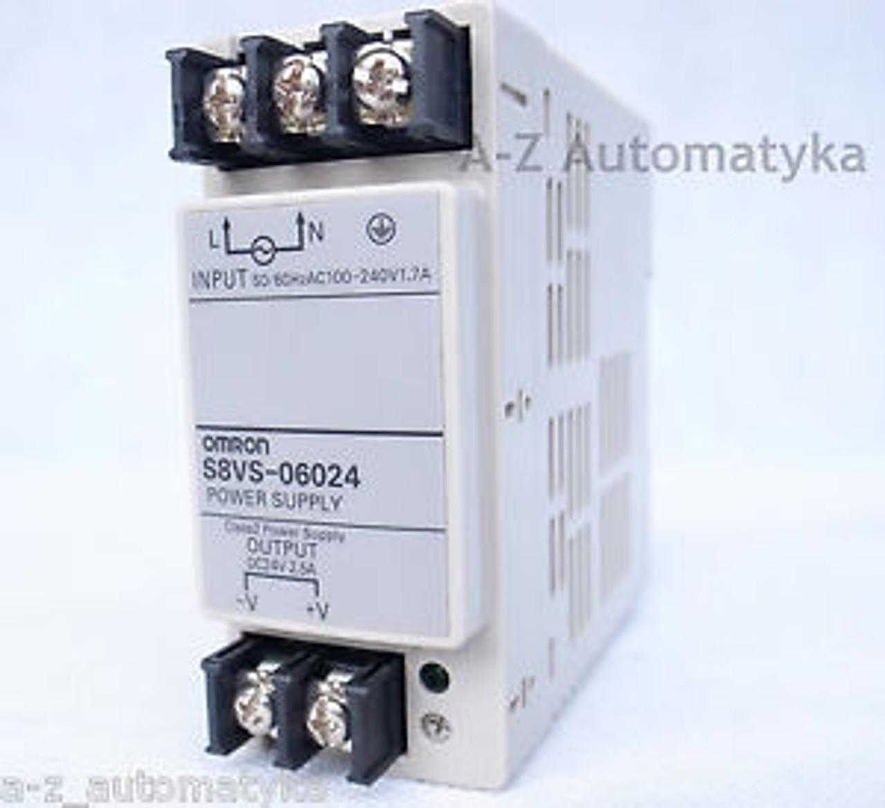 New Omron Power Supply S8VS-18024 100-240VAC In Box