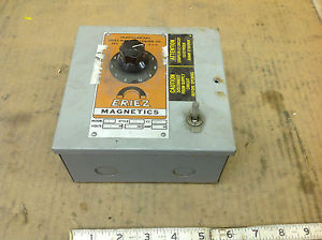 Eriez Magnetics Model D Control Unit