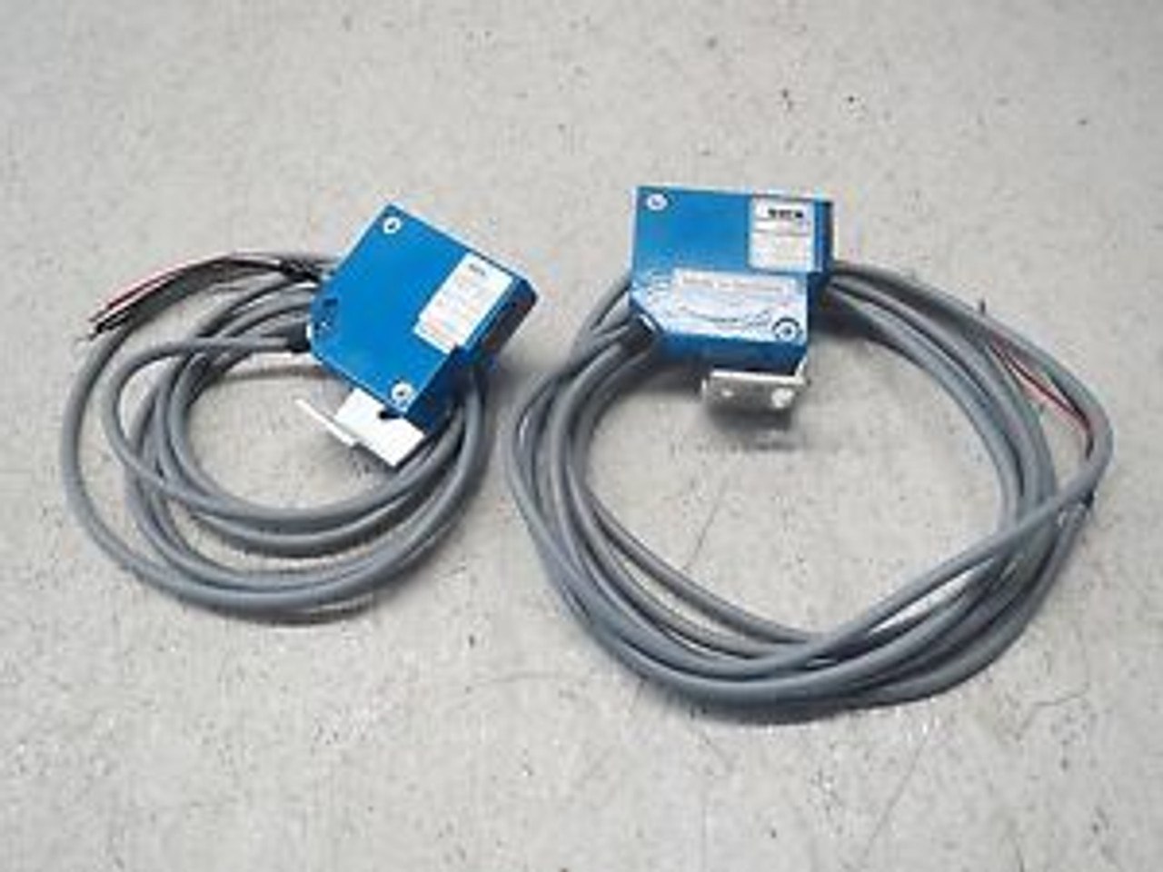Sick Optik cable pls-cs7 30-meters box has been opened and parts inspected