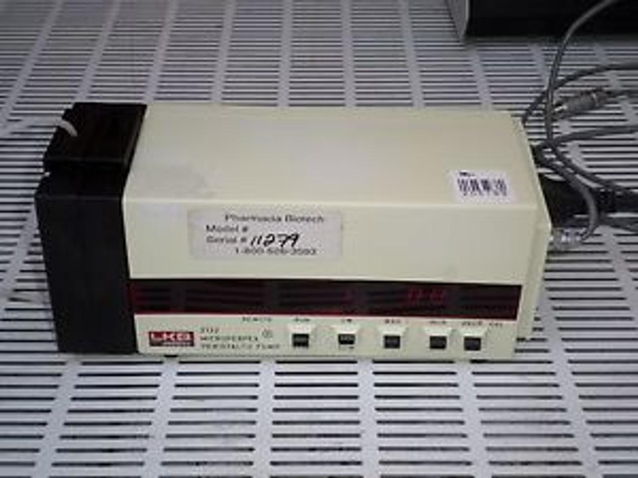 Pharmacia LKB  Peristaltic pump microperpex  2132 model micro LC lab laboratory