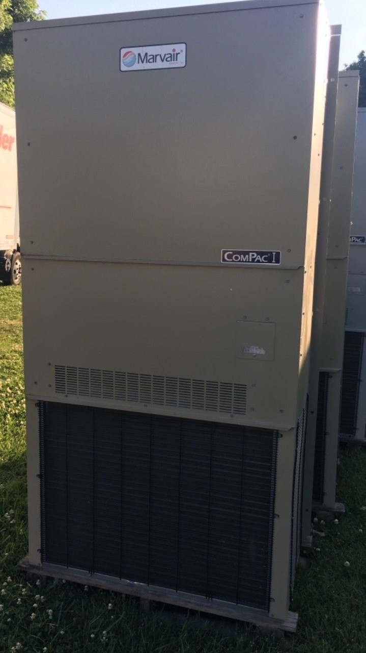 Wall Mount MarvAir 4 Ton Air Conditioner W/ Heating Element