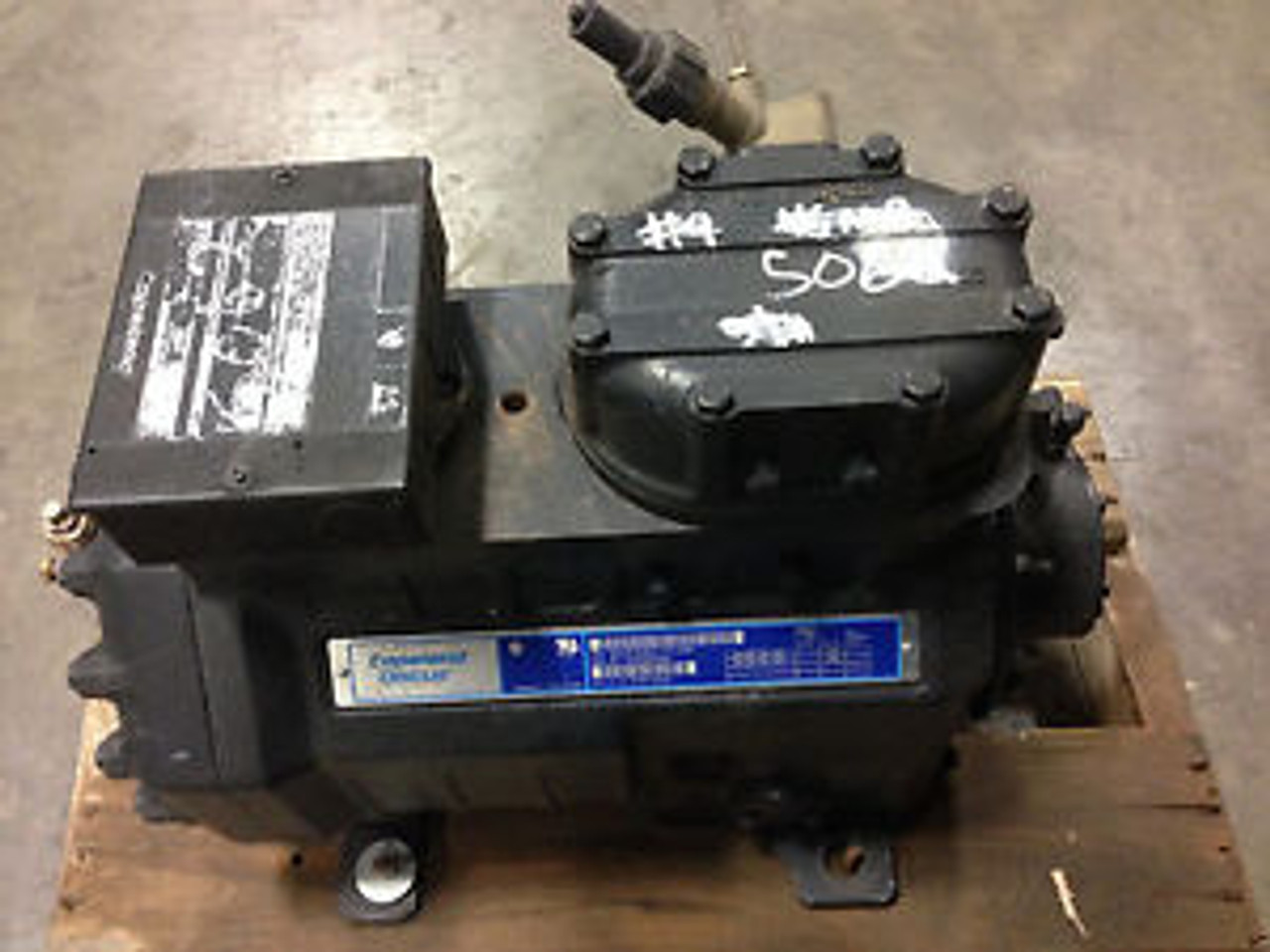 New Overstock 3 5hp Low Temp Copeland Discus Compressor 2DL3F20K0-TFC-200  R22