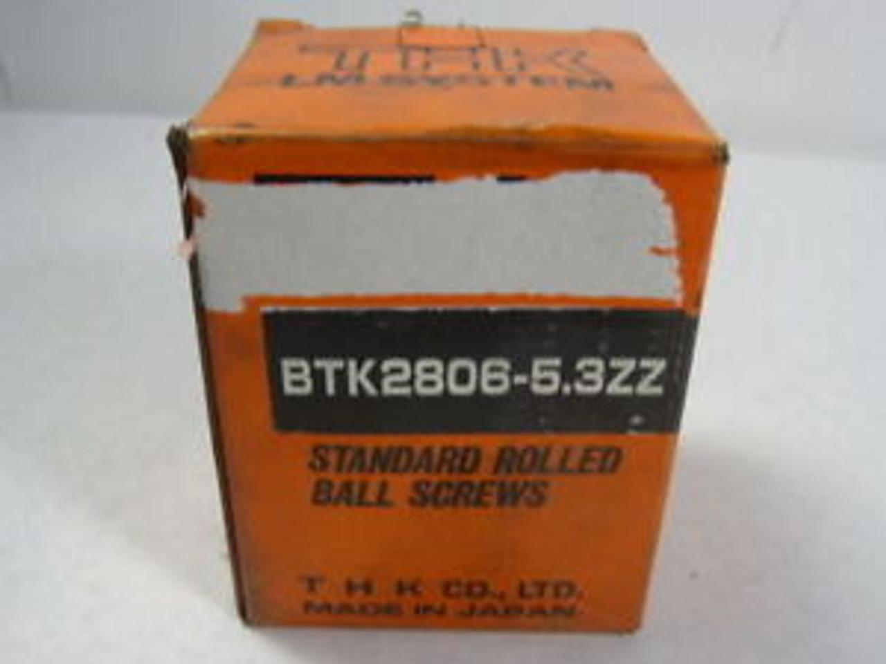 Nordiko THK Rolled Ball Screw Shaft TS3210800L A01843