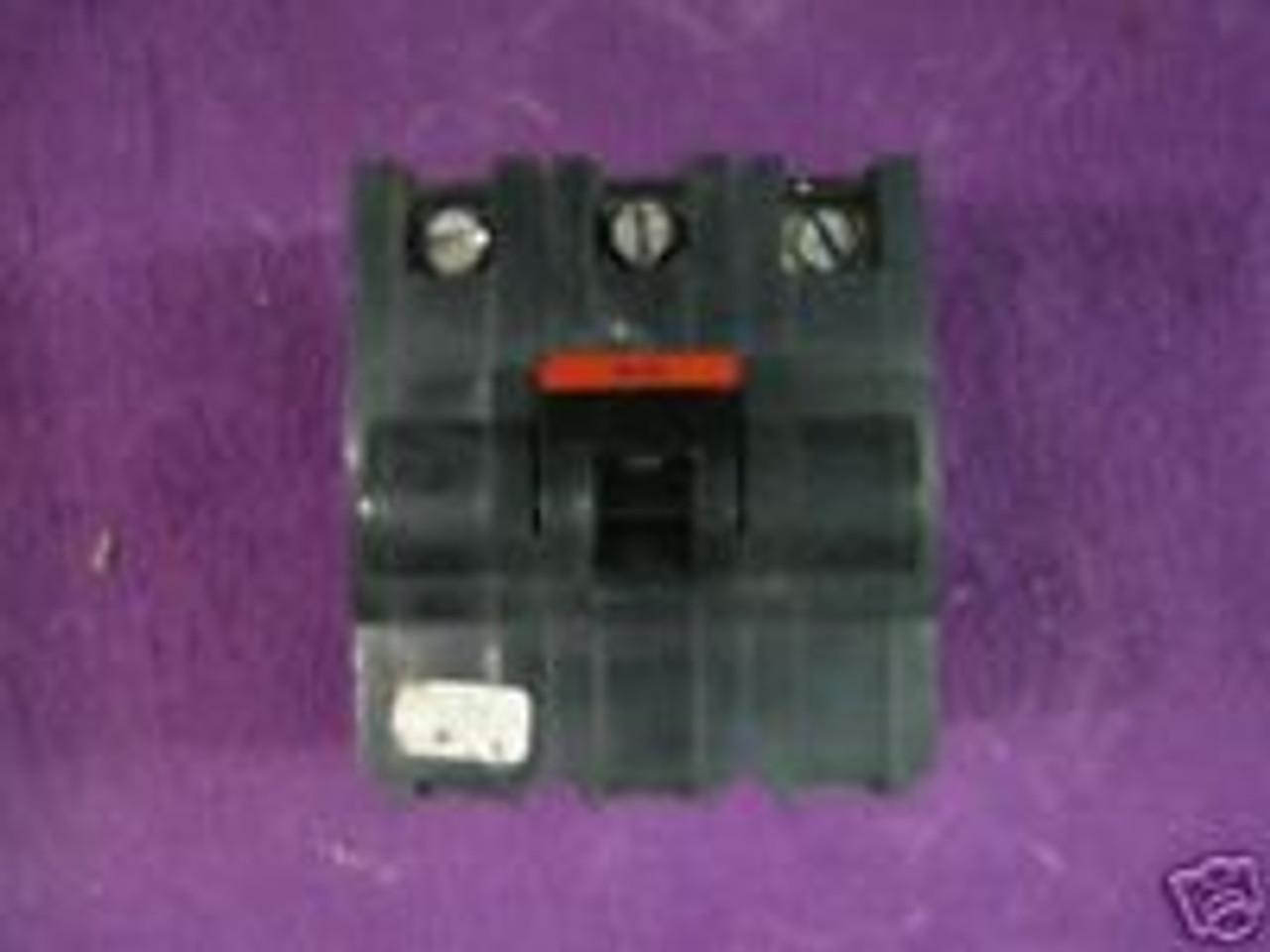 CIRCUIT BREAKER-FPE FEDERAL PACIFIC NA260 60 AMP 2-POLE STAB-LOK OEM USED