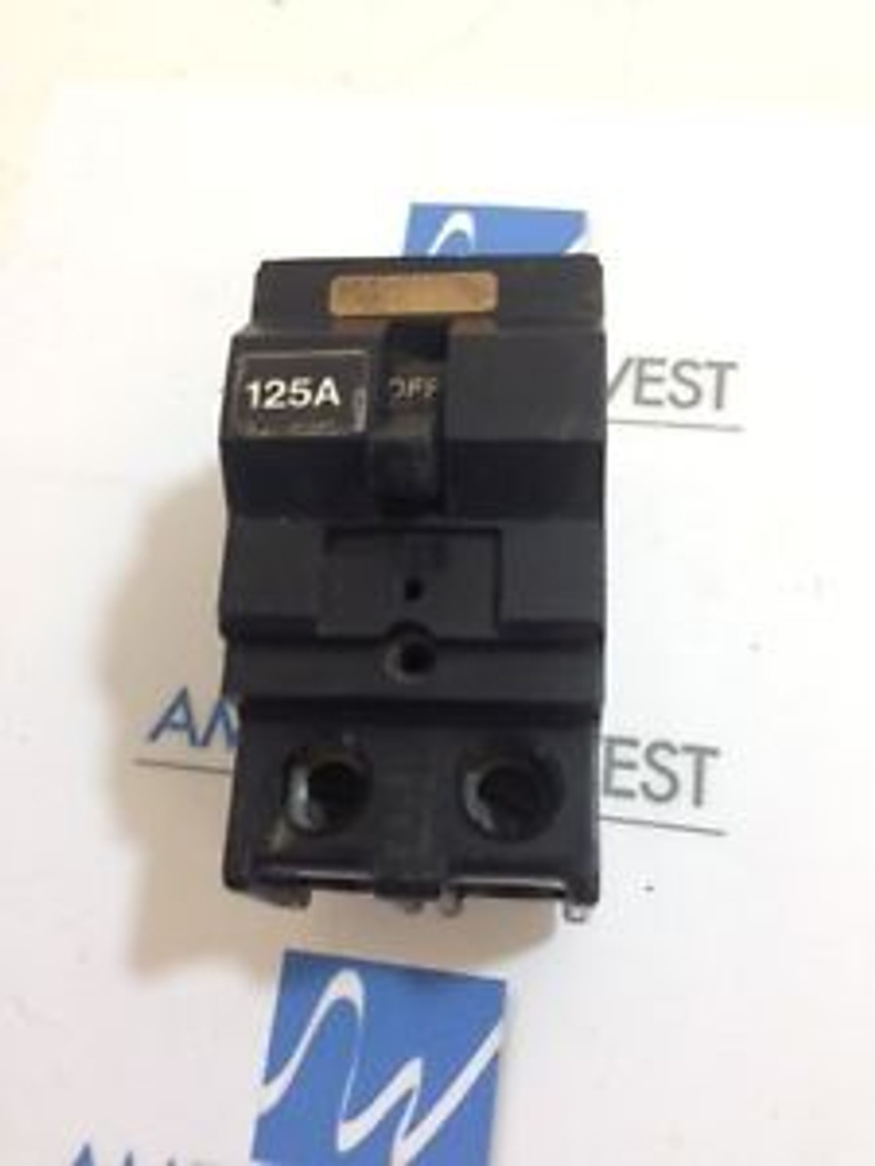 CROUSE HINDS 125 AMP 2 POLE  CIRCUIT BREAKER   TYPE MP-A    E-33A