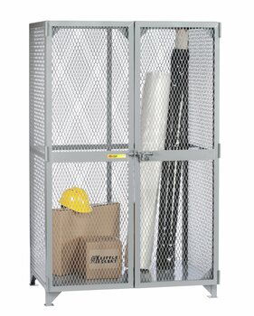 "Little Giant SLN-2448 Metal Welded Storage Locker, 48"" Width x 78"" Height x 24"" Depth"